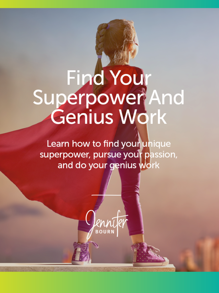 Find Your Unique Superpower And Genius Work