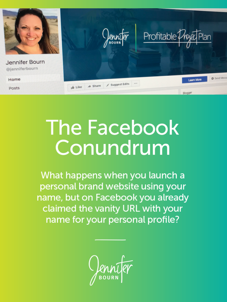 The Facebook Conundrum: Personal Profile Vs. Personal Brand Page