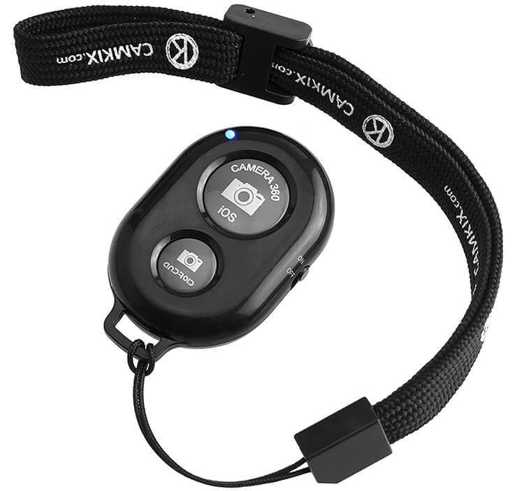 Bluetooth Camera Shutter Remote Control for Smartphones