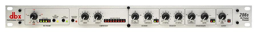 dbx 286s Microphone Preamp Processor