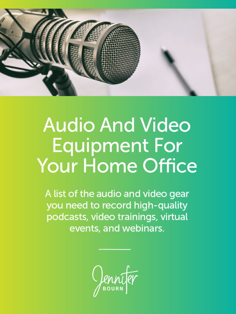 Audio And Video Equipment For Recording Webinars, Podcasts, And Video Training