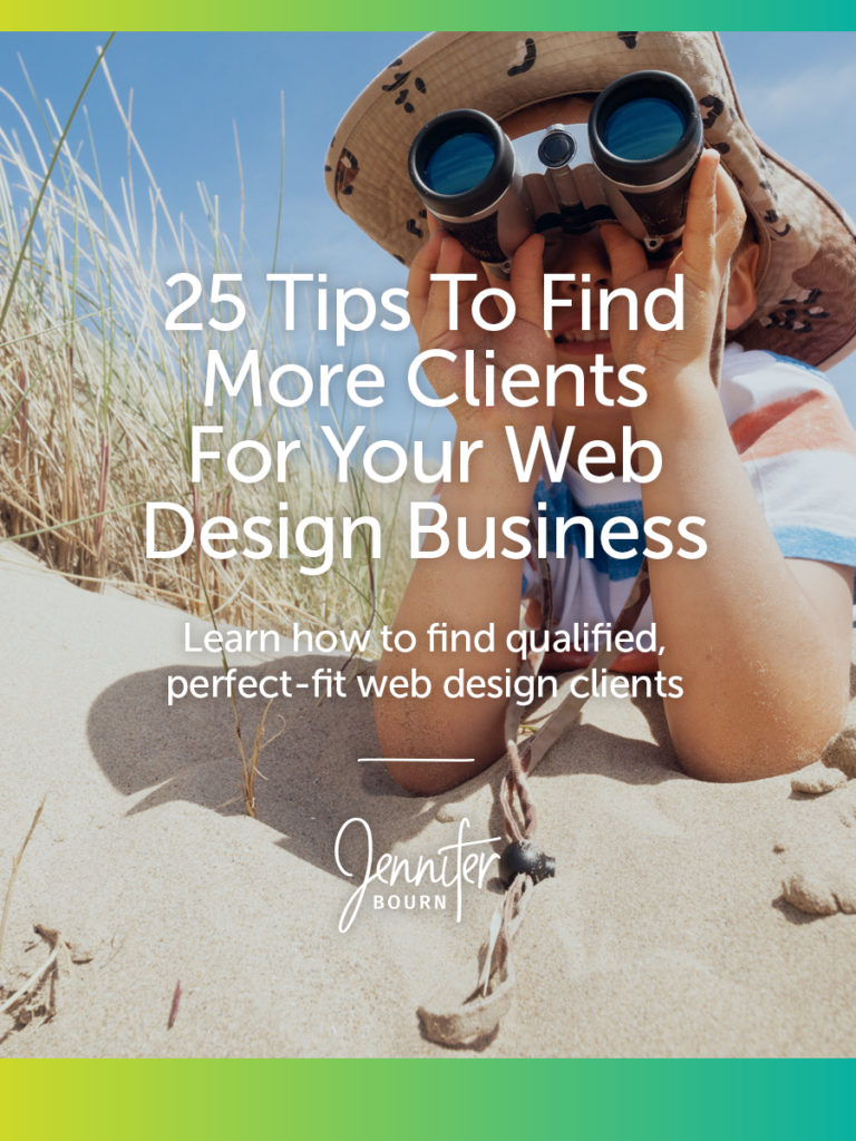 How To Find More Web Design Clients