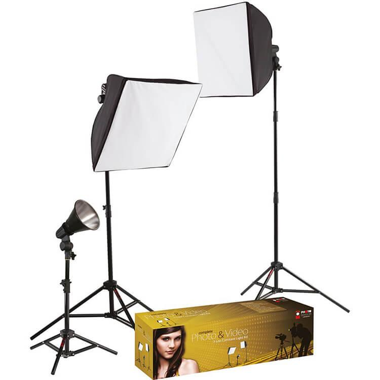 Three Light Kit For Video