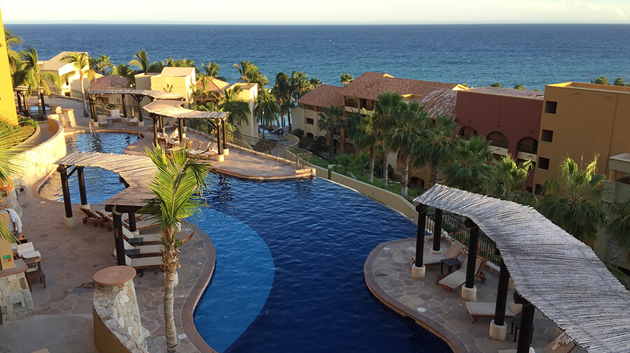One of the Gorgeous Pools at The Fiesta Americana Grand Los Cabos