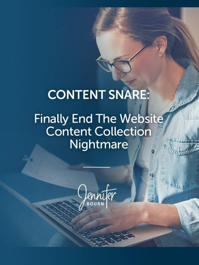 Content Snare: Finally End The Website Content Collection Nightmare
