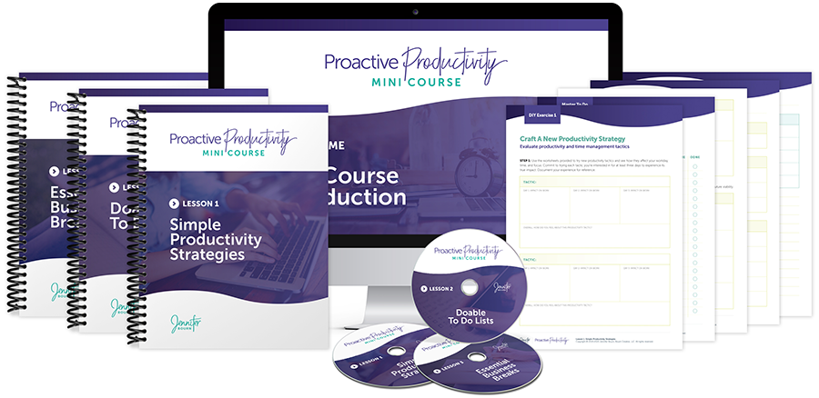 Proactive Productivity Mini Course