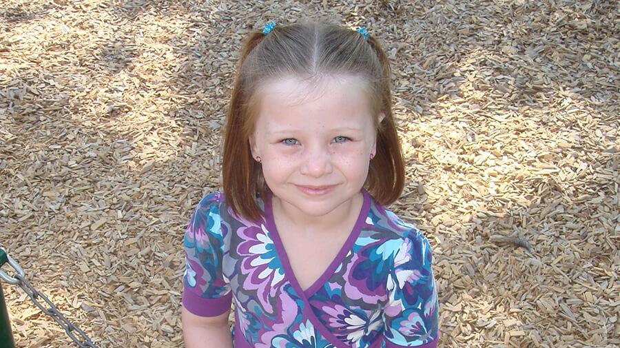 Natalie Bourn In Kindergarden