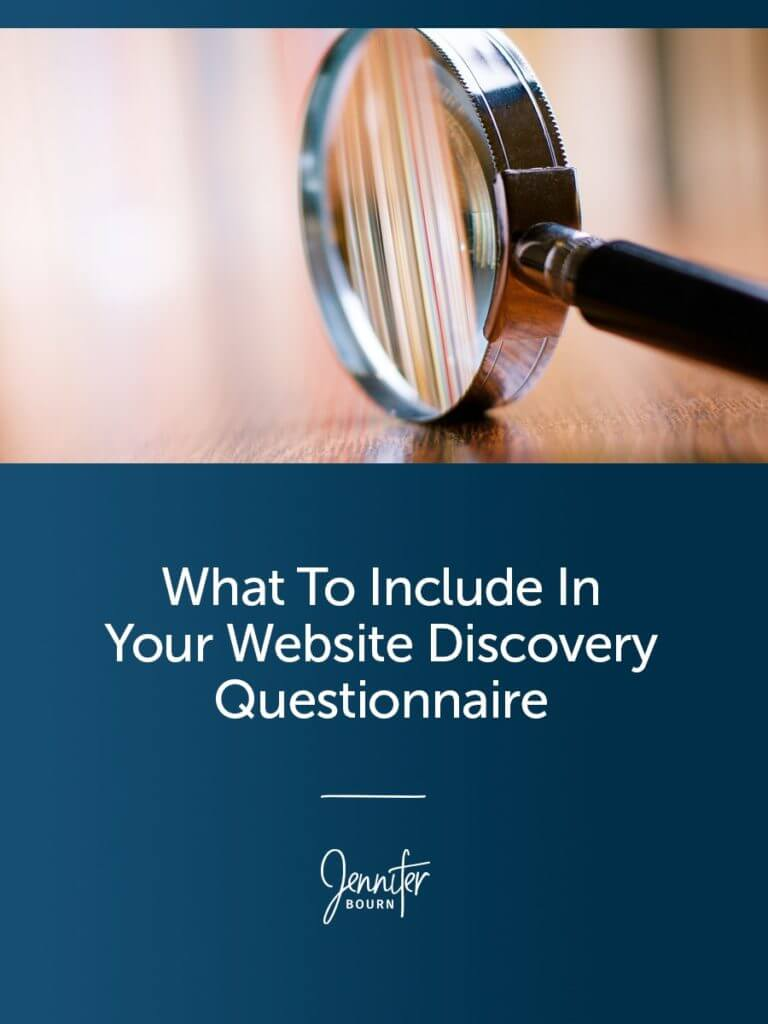 What To Include In Your Website Discovery Questionnaire