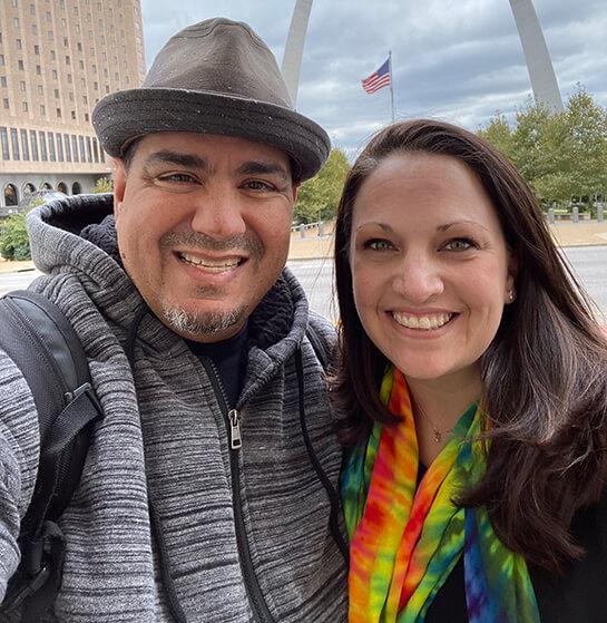 Chris Lema and Jennifer Bourn