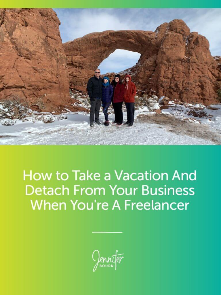How to take a vacation when freelancing