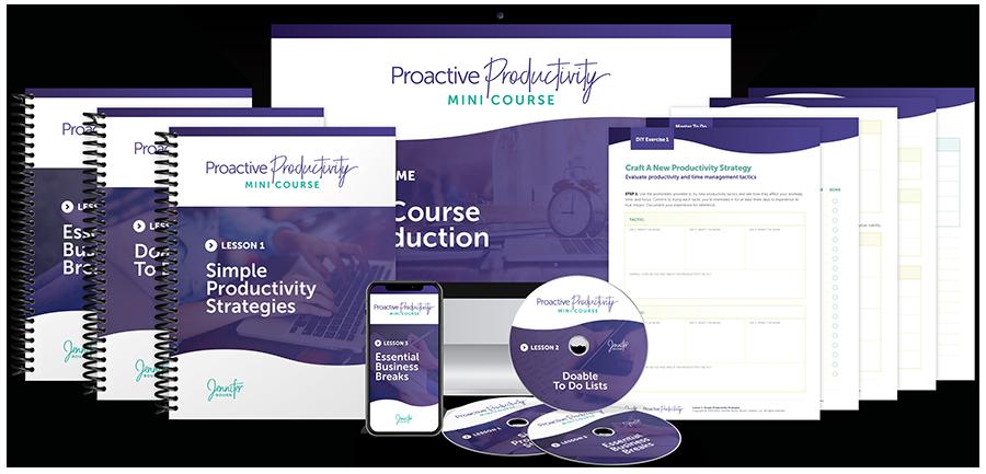 Proactive Productivity Mini Course
