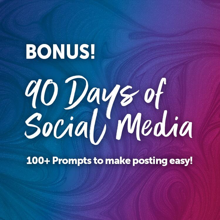 90 Days Of Social Media