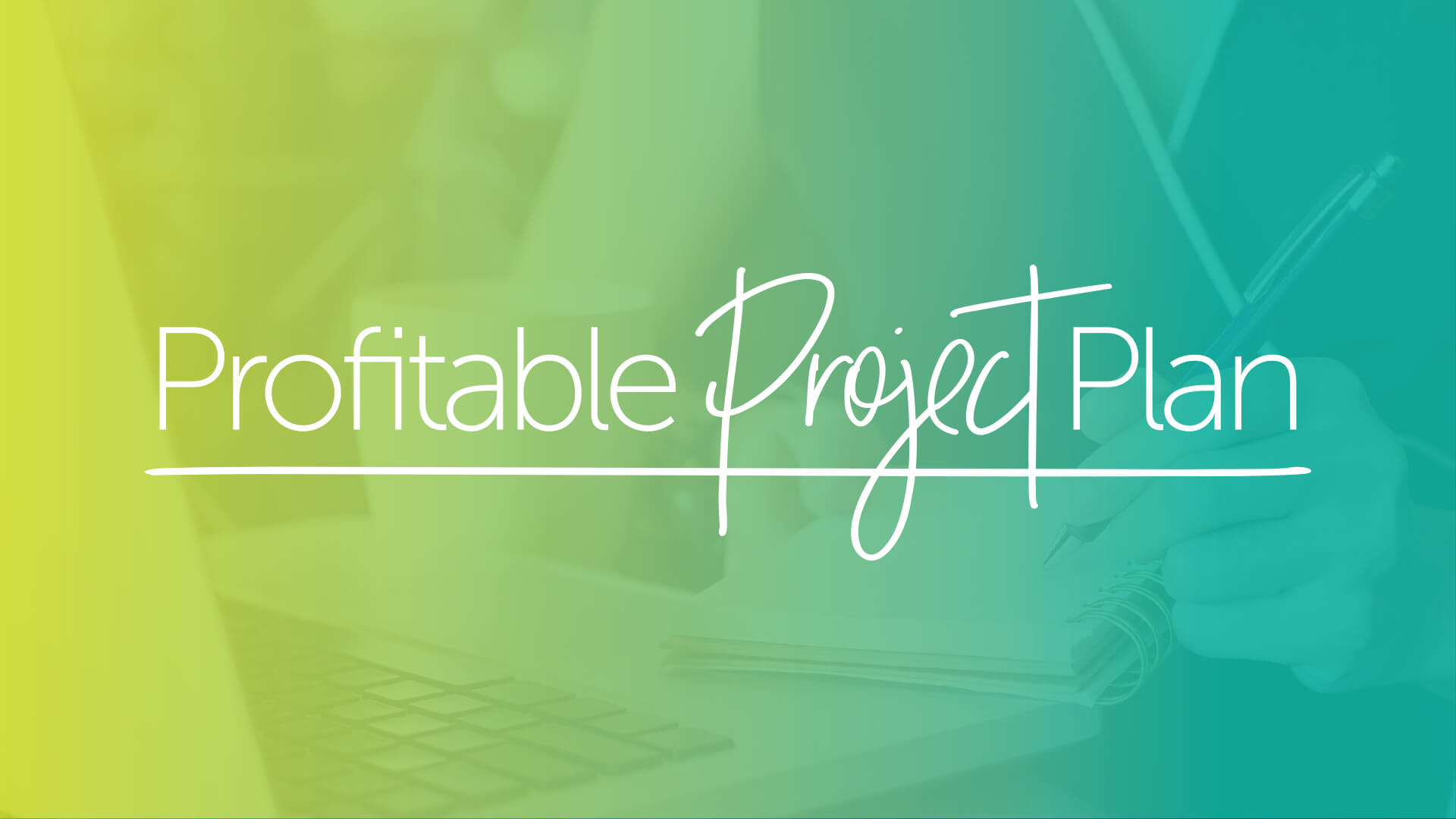 Profitable Project Plan