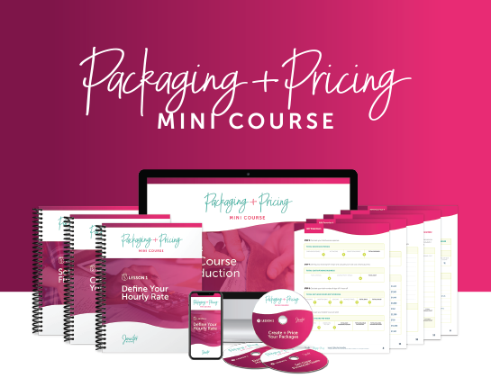 Packaging + Pricing Mini Course
