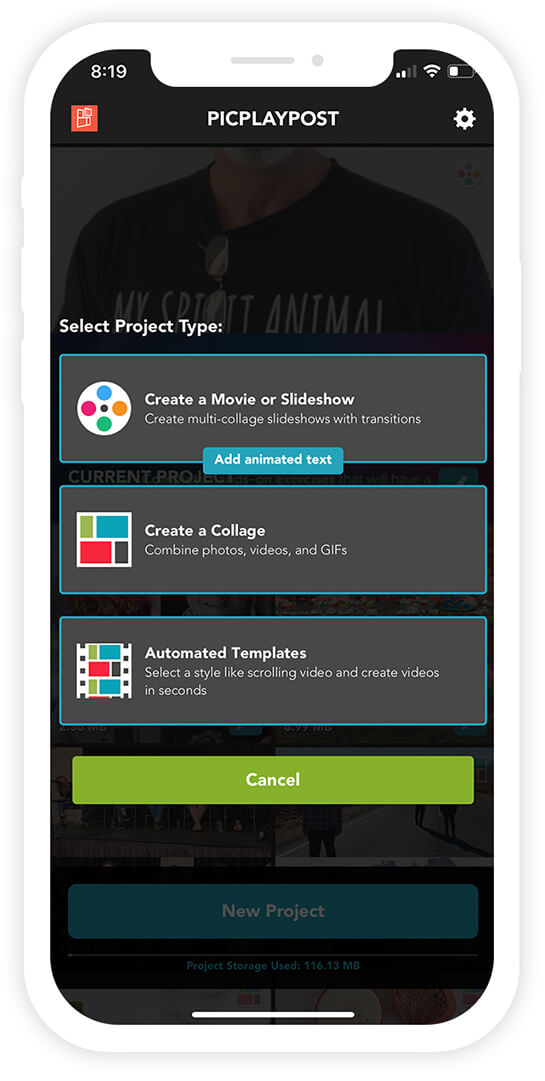 PicPlayPost App Screenshot 12