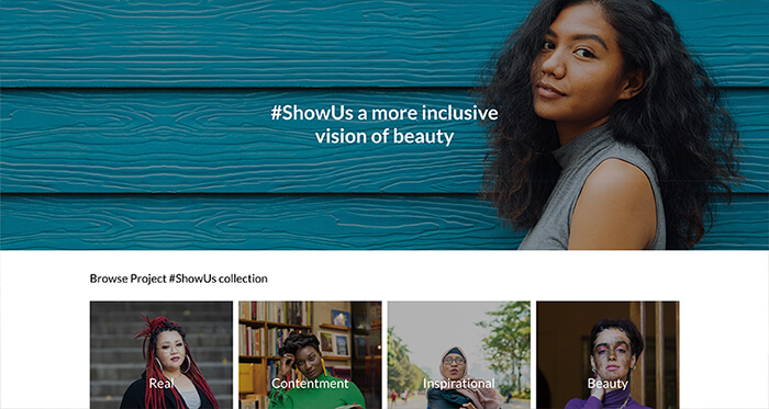 Getty Images ShowUs Campaign