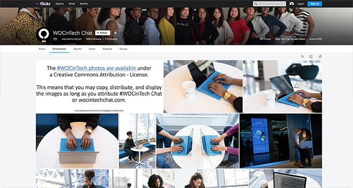 WOC In Tech Stock Photos
