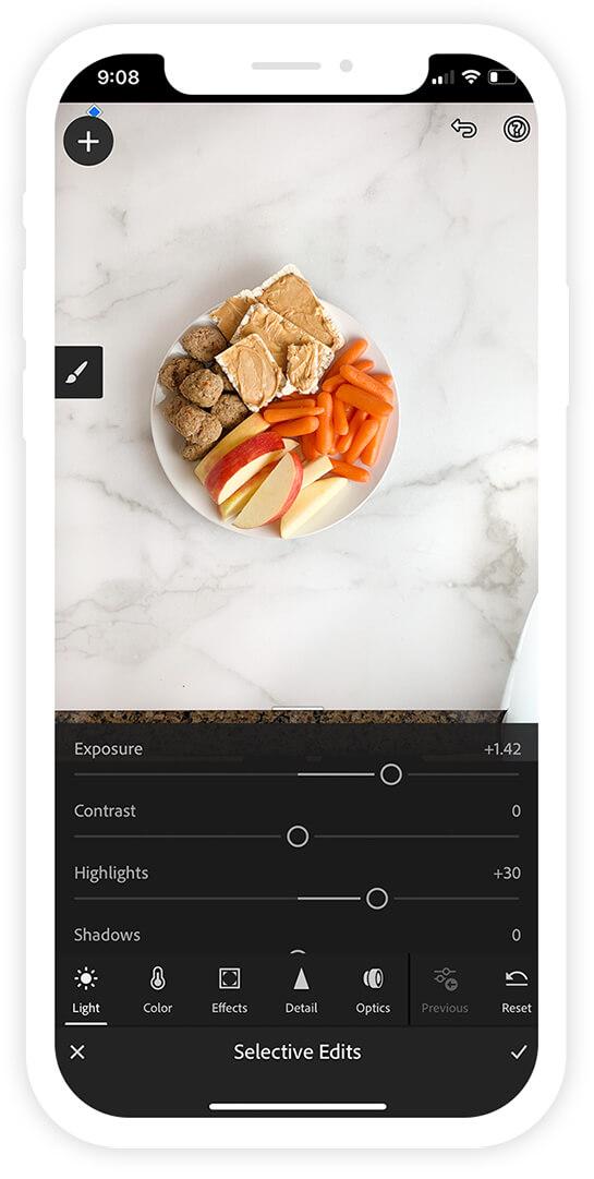 Adobe Lightroom App Photo Adjustments