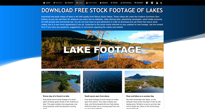 Free Stock Video Resource: Nature Stock Videos