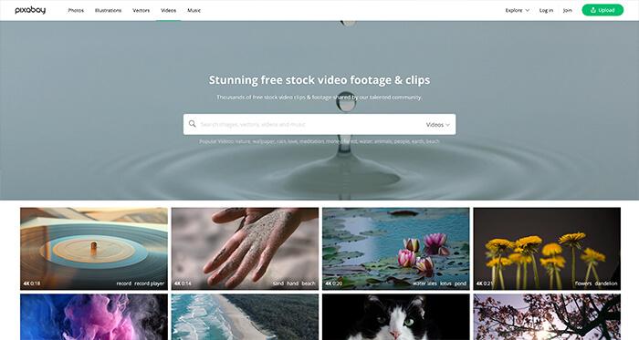 Free Stock Video Resource: Pixabay