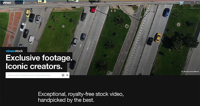 Paid Stock Video Resource: Vimeo Stock